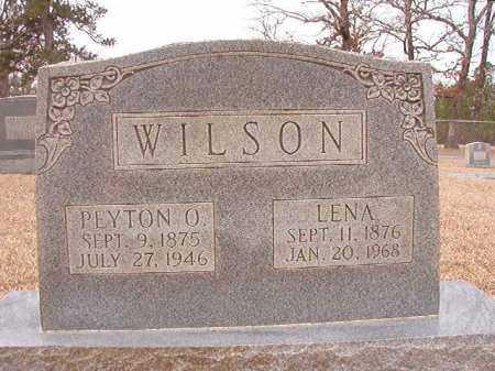 WILSON, PEYTON O - Columbia County, Arkansas | PEYTON O WILSON - Arkansas Gravestone Photos
