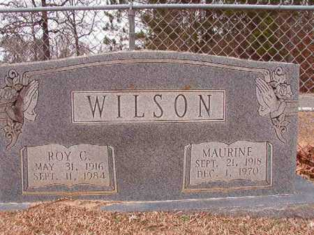 WILSON, MAURINE - Columbia County, Arkansas | MAURINE WILSON - Arkansas Gravestone Photos