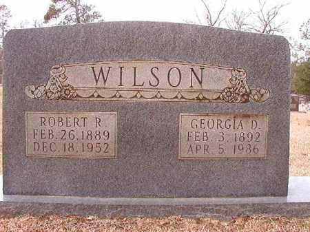WILSON, GEORGIA D - Columbia County, Arkansas | GEORGIA D WILSON - Arkansas Gravestone Photos
