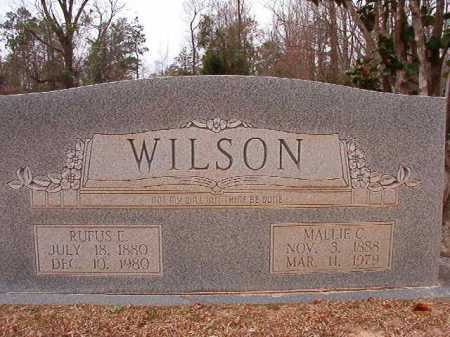WILSON, MALLIE C - Columbia County, Arkansas   MALLIE C WILSON - Arkansas Gravestone Photos