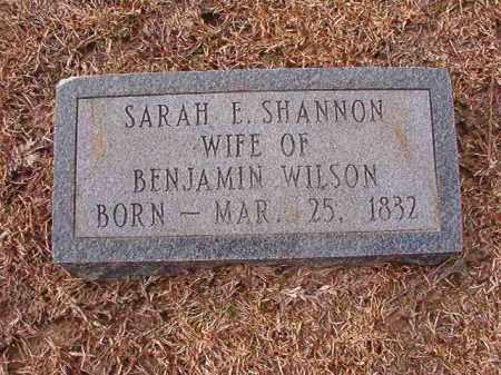 WILSON, SARAH E - Columbia County, Arkansas | SARAH E WILSON - Arkansas Gravestone Photos