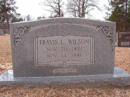 WILSON, TRAVIS L - Columbia County, Arkansas | TRAVIS L WILSON - Arkansas Gravestone Photos