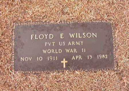 WILSON (VETERAN WWII), FLOYD E - Columbia County, Arkansas | FLOYD E WILSON (VETERAN WWII) - Arkansas Gravestone Photos