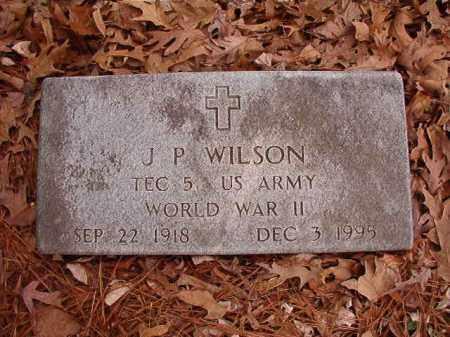 WILSON (VETERAN WWII), J P - Columbia County, Arkansas | J P WILSON (VETERAN WWII) - Arkansas Gravestone Photos