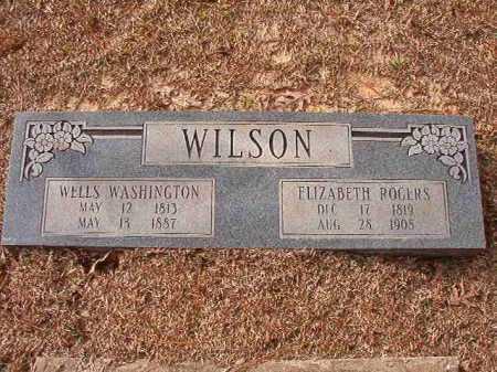 WILSON, WELLS WASHINGTON - Columbia County, Arkansas | WELLS WASHINGTON WILSON - Arkansas Gravestone Photos