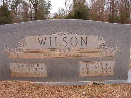 WILSON, WILLIAM LESLIE - Columbia County, Arkansas | WILLIAM LESLIE WILSON - Arkansas Gravestone Photos