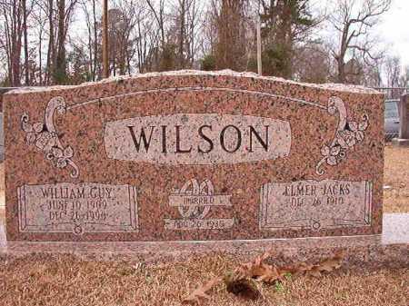 JACKS WILSON, ELMER - Columbia County, Arkansas | ELMER JACKS WILSON - Arkansas Gravestone Photos