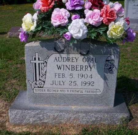 WINBERRY, AUDREY OPAL - Columbia County, Arkansas | AUDREY OPAL WINBERRY - Arkansas Gravestone Photos