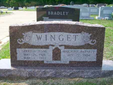 WINGET, GERRELL JESSIE - Columbia County, Arkansas | GERRELL JESSIE WINGET - Arkansas Gravestone Photos
