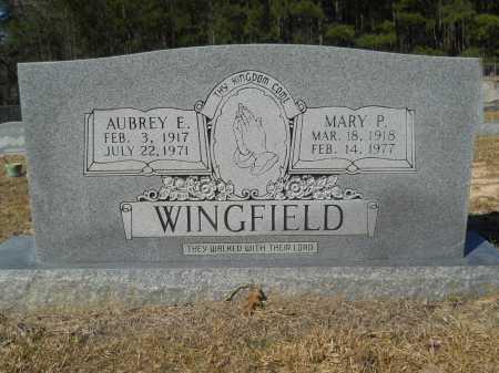 WINGFIELD, MARY P - Columbia County, Arkansas | MARY P WINGFIELD - Arkansas Gravestone Photos