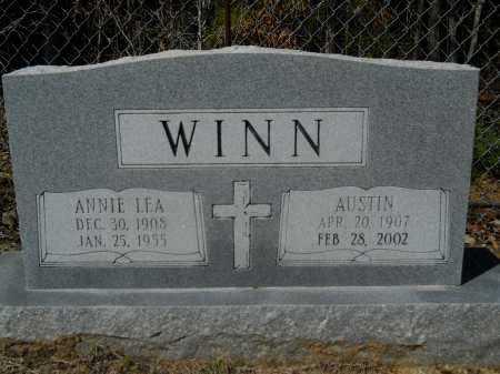 WINN, ANNIE LEA - Columbia County, Arkansas | ANNIE LEA WINN - Arkansas Gravestone Photos