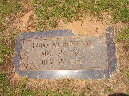 WITHERSPOON, LAURA - Columbia County, Arkansas | LAURA WITHERSPOON - Arkansas Gravestone Photos