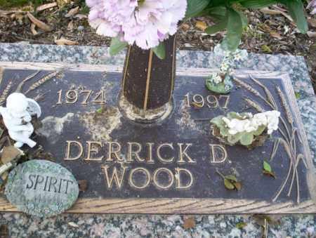 WOOD, DERRICK D - Columbia County, Arkansas | DERRICK D WOOD - Arkansas Gravestone Photos
