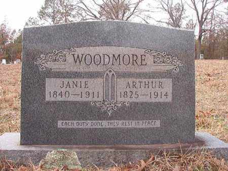 WOODMORE, ARTHUR - Columbia County, Arkansas | ARTHUR WOODMORE - Arkansas Gravestone Photos