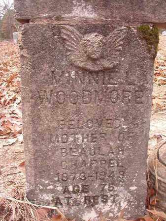 WOODMORE, MINNIE L - Columbia County, Arkansas   MINNIE L WOODMORE - Arkansas Gravestone Photos