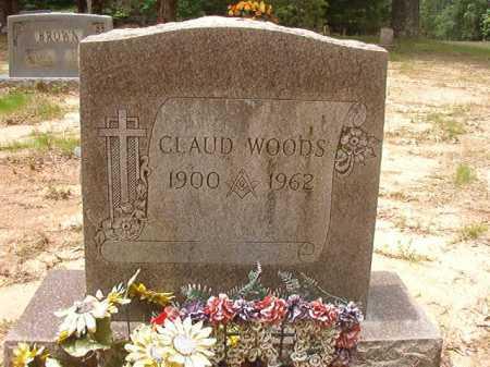 WOODS, CLAUD - Columbia County, Arkansas   CLAUD WOODS - Arkansas Gravestone Photos
