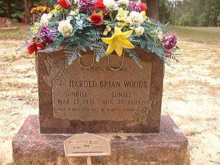 WOODS, HAROLD BRIAN - Columbia County, Arkansas | HAROLD BRIAN WOODS - Arkansas Gravestone Photos