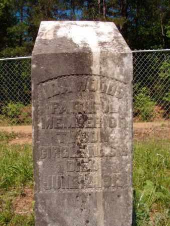 WOODS, IDA - Columbia County, Arkansas   IDA WOODS - Arkansas Gravestone Photos