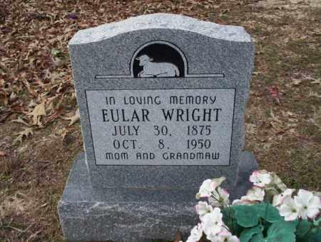 WRIGHT, EULAR - Columbia County, Arkansas | EULAR WRIGHT - Arkansas Gravestone Photos