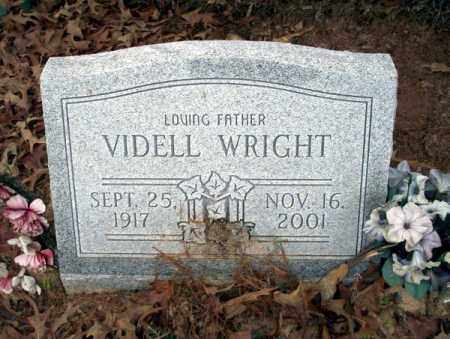 WRIGHT, VIDELL - Columbia County, Arkansas | VIDELL WRIGHT - Arkansas Gravestone Photos