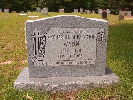 BUFFINGTON WYNN, KATHERINE - Columbia County, Arkansas   KATHERINE BUFFINGTON WYNN - Arkansas Gravestone Photos