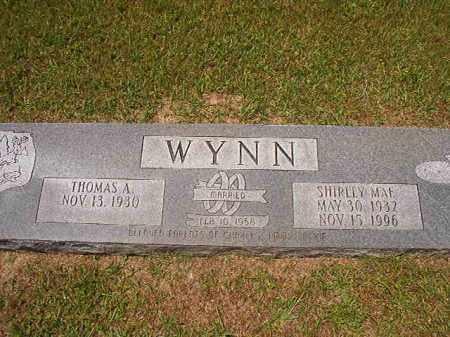 WYNN, SHIRLEY MAE - Columbia County, Arkansas | SHIRLEY MAE WYNN - Arkansas Gravestone Photos