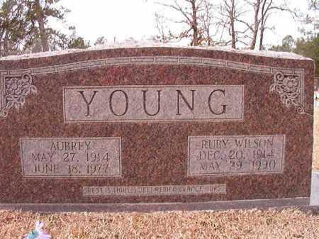 YOUNG, AUBREY - Columbia County, Arkansas | AUBREY YOUNG - Arkansas Gravestone Photos