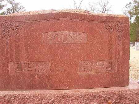 YOUNG, WALTER H - Columbia County, Arkansas   WALTER H YOUNG - Arkansas Gravestone Photos
