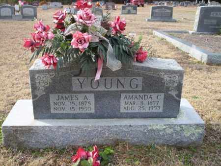 YOUNG, JAMES A - Columbia County, Arkansas | JAMES A YOUNG - Arkansas Gravestone Photos