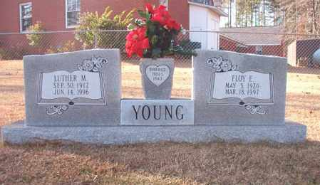 YOUNG, LUTHER M - Columbia County, Arkansas   LUTHER M YOUNG - Arkansas Gravestone Photos