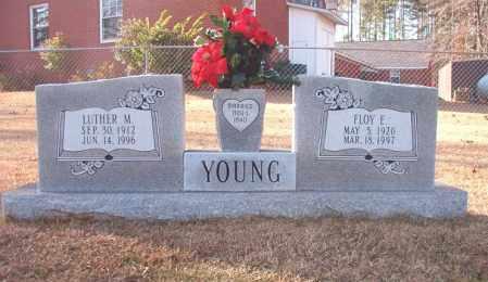 YOUNG, FLOY E - Columbia County, Arkansas | FLOY E YOUNG - Arkansas Gravestone Photos