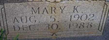 YOUNG, MARY K - Columbia County, Arkansas   MARY K YOUNG - Arkansas Gravestone Photos