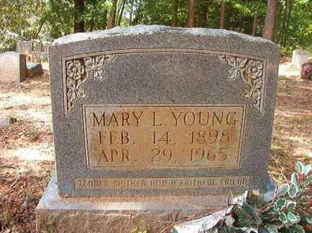 YOUNG, MARY L - Columbia County, Arkansas | MARY L YOUNG - Arkansas Gravestone Photos