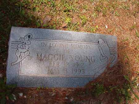YOUNG, MAGGIE - Columbia County, Arkansas | MAGGIE YOUNG - Arkansas Gravestone Photos