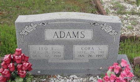ADAMS, LEO E. - Conway County, Arkansas | LEO E. ADAMS - Arkansas Gravestone Photos