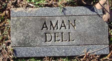 AMAN, DELL - Conway County, Arkansas | DELL AMAN - Arkansas Gravestone Photos