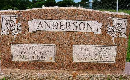 ANDERSON, JEWEL - Conway County, Arkansas | JEWEL ANDERSON - Arkansas Gravestone Photos