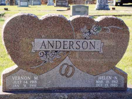 GORDON ANDERSON, HELEN NEMA - Conway County, Arkansas | HELEN NEMA GORDON ANDERSON - Arkansas Gravestone Photos