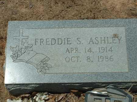 ASHLEY, FREDDIE S. - Conway County, Arkansas | FREDDIE S. ASHLEY - Arkansas Gravestone Photos