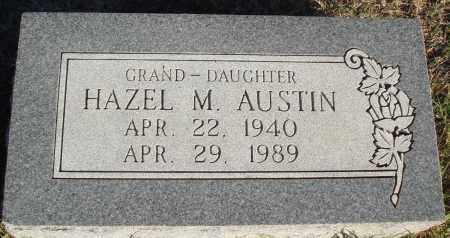 AUSTIN, HAZEL M - Conway County, Arkansas   HAZEL M AUSTIN - Arkansas Gravestone Photos