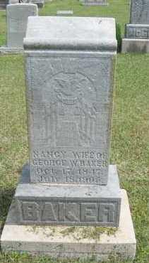 BAKER, NANCY POLINA - Conway County, Arkansas | NANCY POLINA BAKER - Arkansas Gravestone Photos