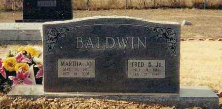 BALDWIN, MARTHA JO - Conway County, Arkansas | MARTHA JO BALDWIN - Arkansas Gravestone Photos