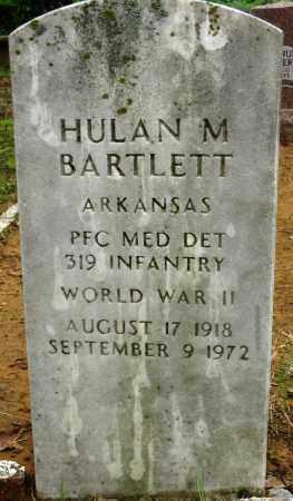 BARTLETT (VETERAN WWII), HULAN M - Conway County, Arkansas | HULAN M BARTLETT (VETERAN WWII) - Arkansas Gravestone Photos