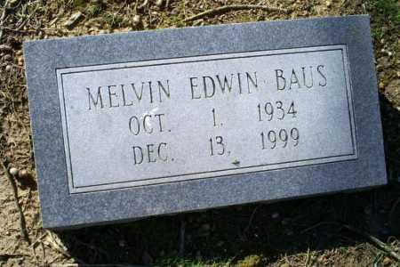 BAUS, MELVIN EDWIN - Conway County, Arkansas   MELVIN EDWIN BAUS - Arkansas Gravestone Photos