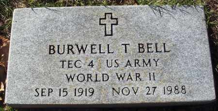 BELL  (VETERAN WWII), BURWELL T - Conway County, Arkansas | BURWELL T BELL  (VETERAN WWII) - Arkansas Gravestone Photos