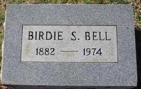 BELL, BIRDIE S. - Conway County, Arkansas | BIRDIE S. BELL - Arkansas Gravestone Photos