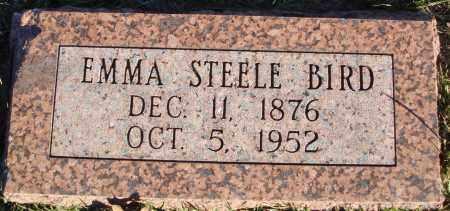 STEELE BIRD, EMMA - Conway County, Arkansas | EMMA STEELE BIRD - Arkansas Gravestone Photos