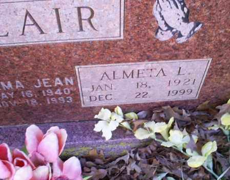 BLAIR, ALMETA L. - Conway County, Arkansas   ALMETA L. BLAIR - Arkansas Gravestone Photos