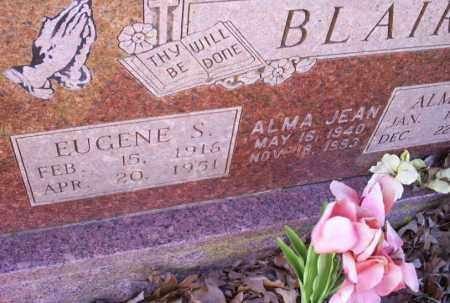 BLAIR, EUGENE S. - Conway County, Arkansas | EUGENE S. BLAIR - Arkansas Gravestone Photos