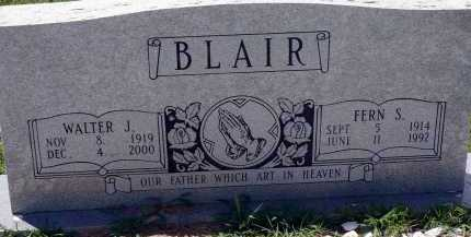 BLAIR, FERN S. - Conway County, Arkansas | FERN S. BLAIR - Arkansas Gravestone Photos
